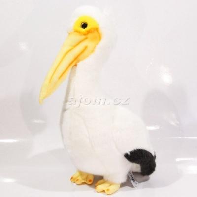Plyšový Pelikán bílý 30cm