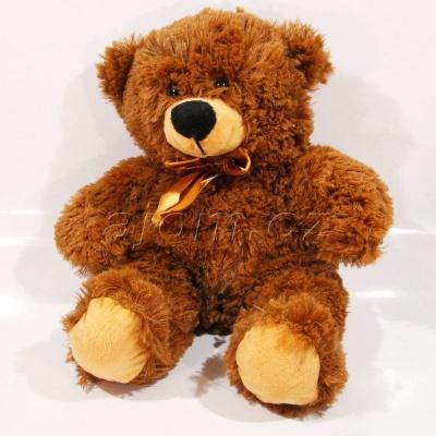 Plyšový Medvídek tmavě hnědý 35cm