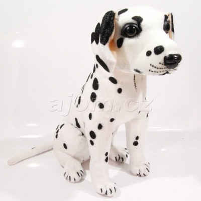 Plyšový Pes Dalmatin 32 cm