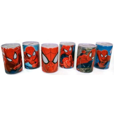 Pokladnička kasička na peníze Spiderman 10cm