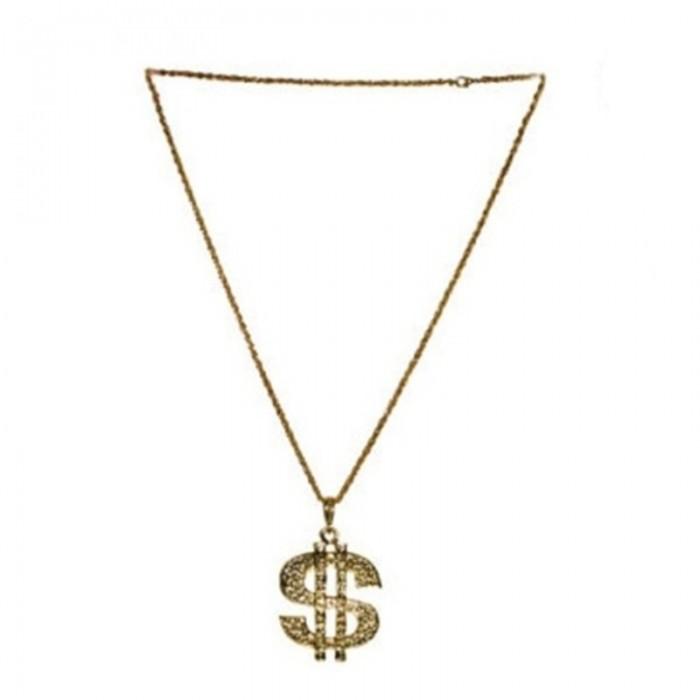 Náhrdelník - dolar zlatý