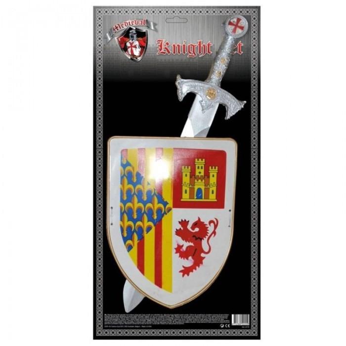 Meč a štít - sada rytíř