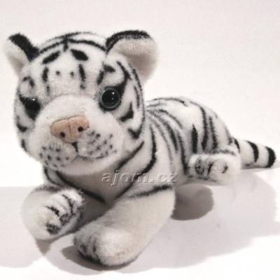 Plyšový Tygr bílý - malý