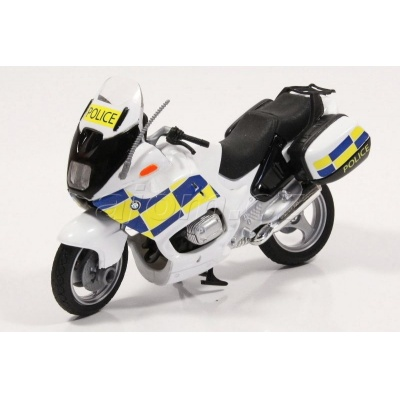 Motorka BMW Security Policie model Mondo Motors 1:18