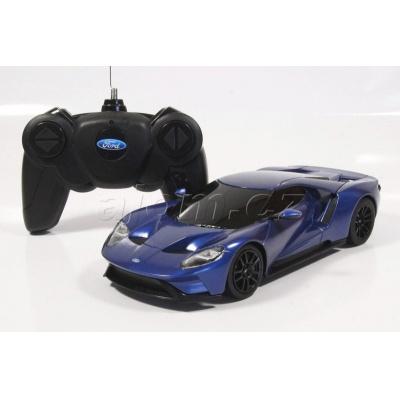 RC model Ford GT auto na dálkové ovládání 1:24 modrý