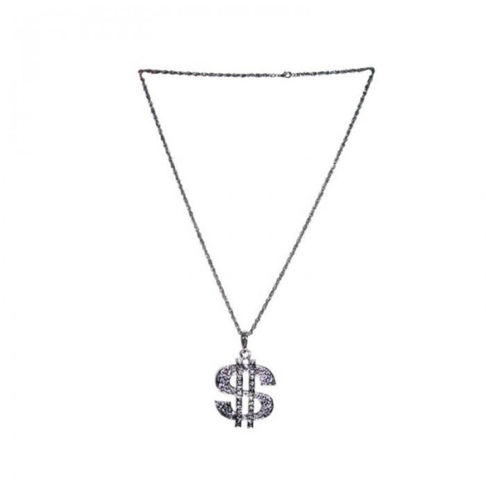 Náhrdelník - dolar stříbrný