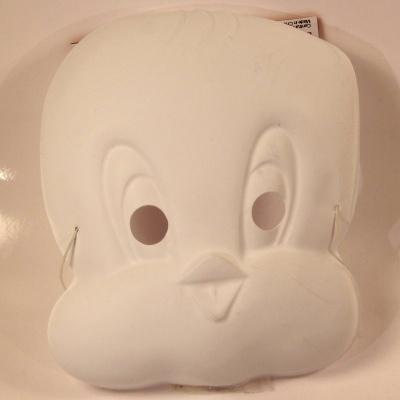 Maska k domalování - kuře