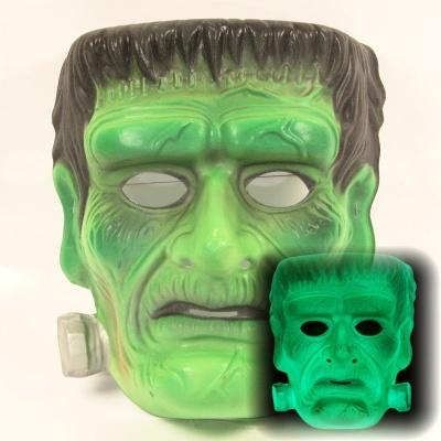Maska Frankenstein - svítící