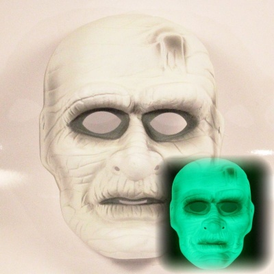 Maska Mumie - svítící