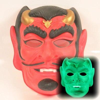 Maska Čert - svítící