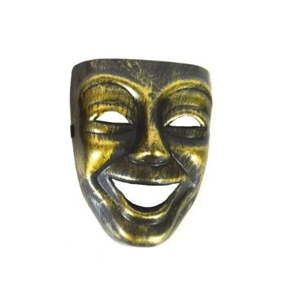 Maska - benátská zlatá