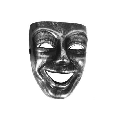 Maska - benátská stříbrná