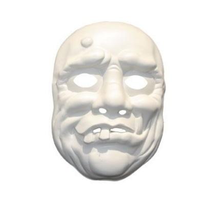 Maska horor - bílá