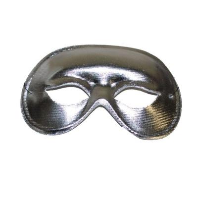 Škraboška maska - stříbrná