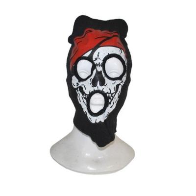 Maska horor - kukla lebka pirát