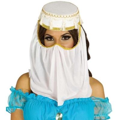 Klobouk se závojem - arabská princezna