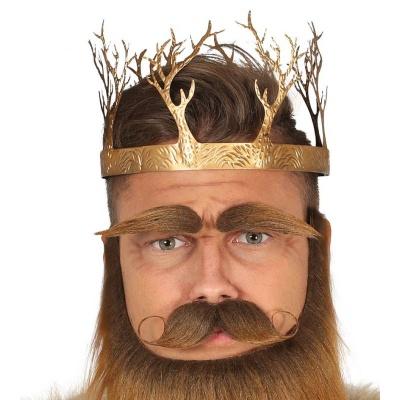 Kovová královská koruna - paroží