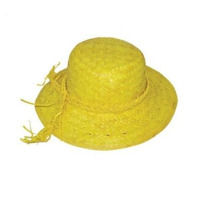 Dámský slamák - žlutý