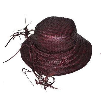 Dámský slamák - tmavě fialový