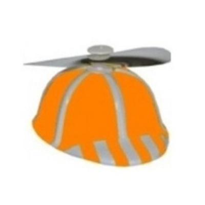 Čepice s vrtulkou - oranžová