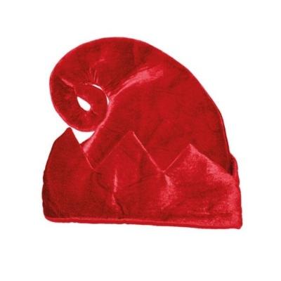 Čepice elf - červená