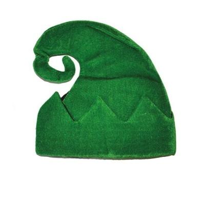 Čepice elf - zelená