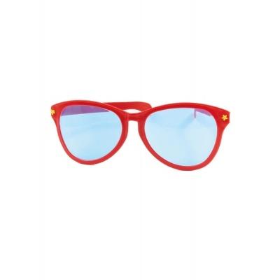 Jumbo maxi brýle 27cm červené
