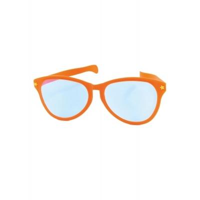 Jumbo maxi brýle 27cm oranžové