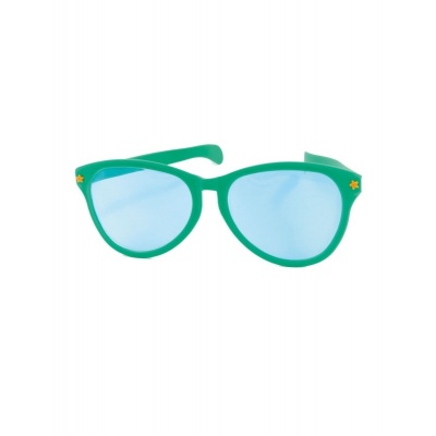 Jumbo maxi brýle 27cm zelené