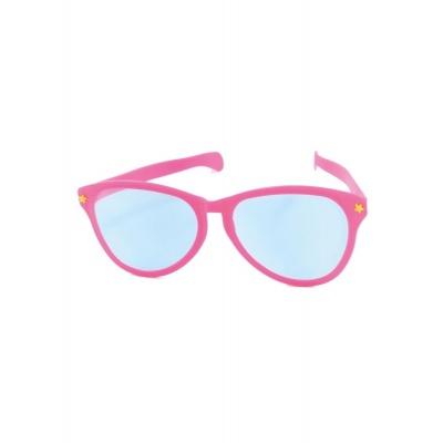Jumbo maxi brýle 27cm růžové