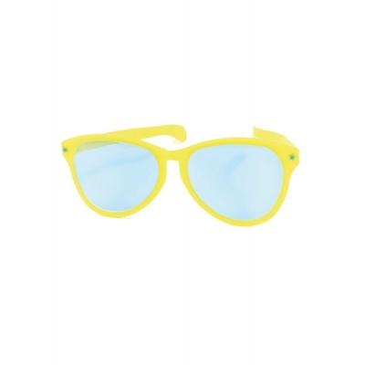 Jumbo maxi brýle 27cm žluté