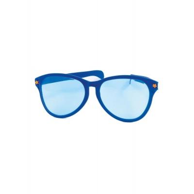 Jumbo maxi brýle 27cm modré