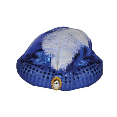 Turban modrý