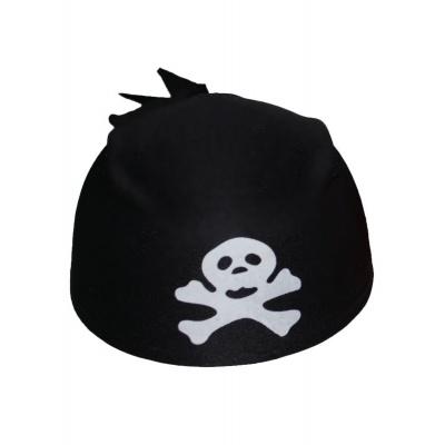 Čapka pirát - černá