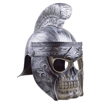 Římská helma lebka