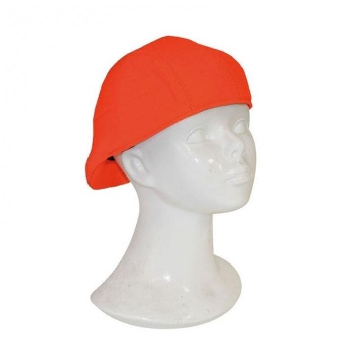 Čepice bekovka neon - oranžová