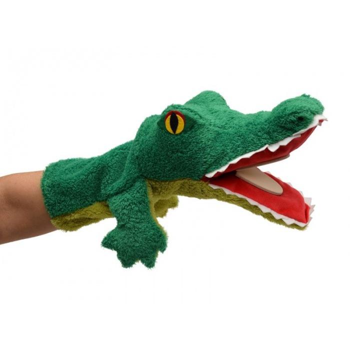 Krokodýl 38cm klapací maňásek