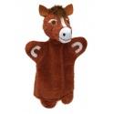 Kůň 32cm maňásek