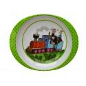 Dětské nádobí talíř Krteček a mašinka 19cm