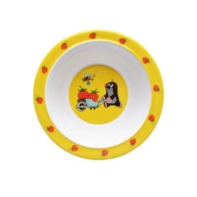Dětské nádobí miska Krteček a jahody 16cm