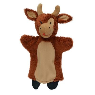 Kráva 30cm maňásek