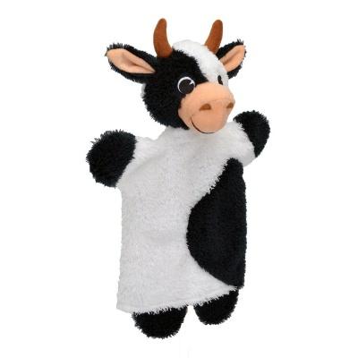 Kráva strakatá 29cm maňásek