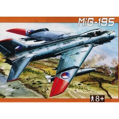 MIG-19S 1:72 Směr plastikový model letadla ke slepení