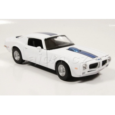 Model auta Pontiac Firebird Trans AM 1972 - 1:24