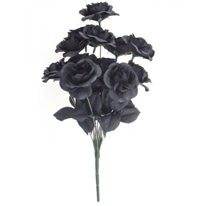 Kytice černé růže