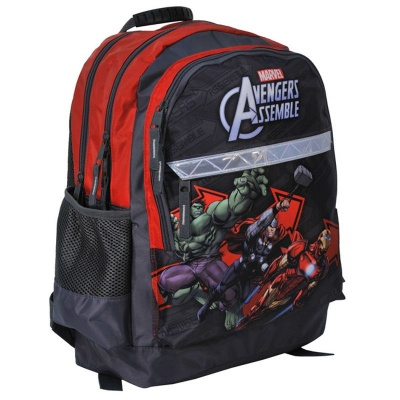 Školní batoh brašna červená Avengers