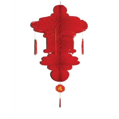 Dekorace Čínský lampion velký - 90cm