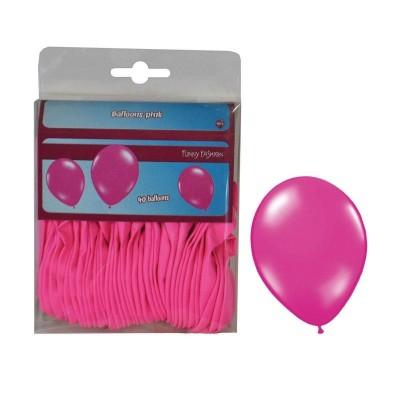 Balónky růžové - 40ks