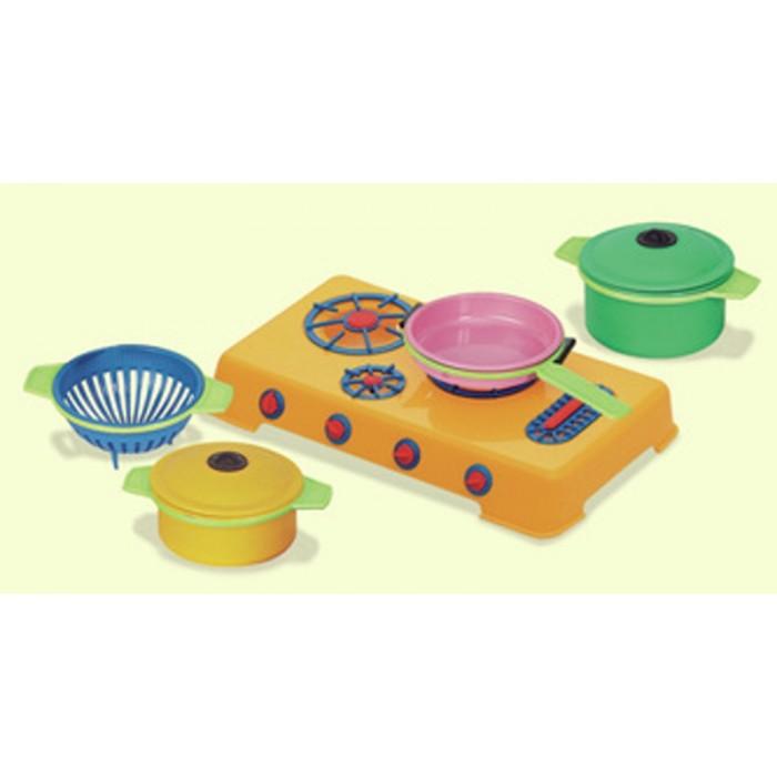 Dětská kuchyňka - vařič s nádobím