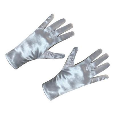 Bílé rukavičky 25cm